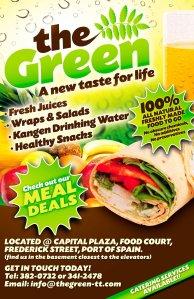 The Green Restaurant, Trinidad