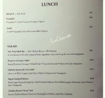 Peche Patisserie Chaguanas Menu Lunch 1 of 2