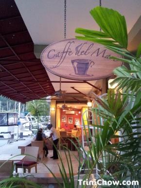 CAFFE DEL MARE (Chaguaramas,Trinidad)