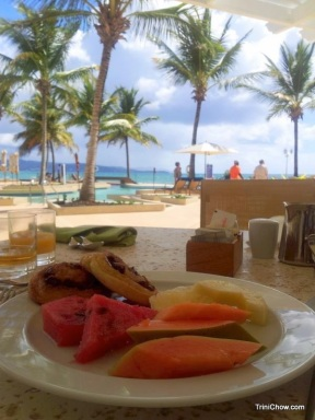 Breakfast Magdalena Grand Beach Resort Tobago