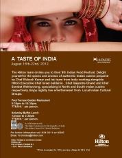 Taste of India Hilton Trinidad
