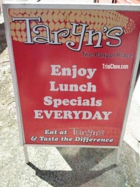 TARYN'S, The Panyol Place (St. James,Trinidad)