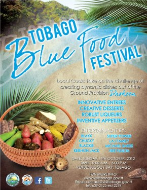 2012 Tobago Blue Food Festival: Oct 14
