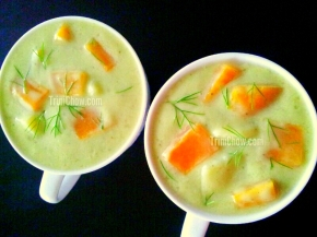 Breadfruit Pumpkin Soup (Recipe)