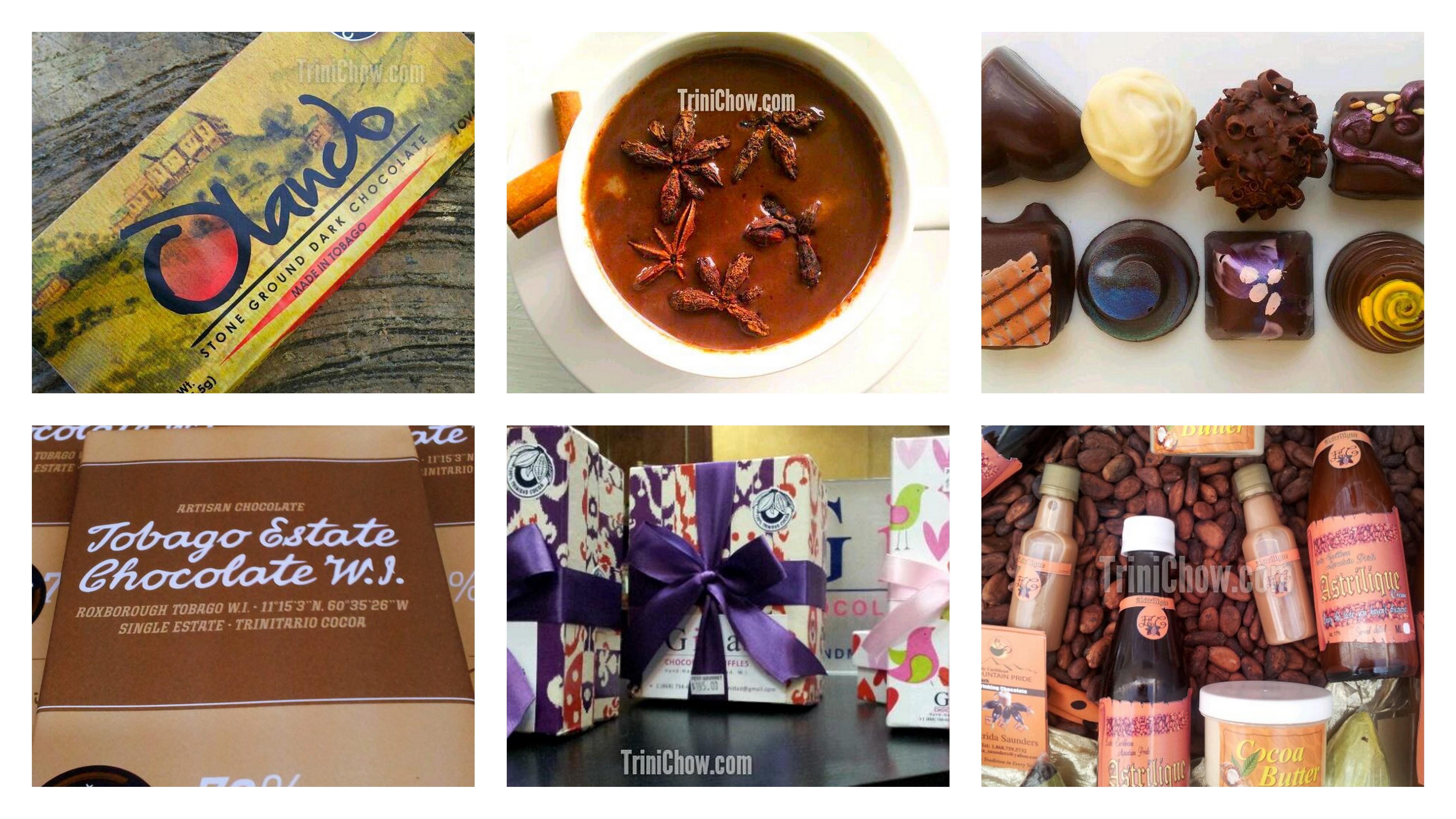 Chocolate Bar Cafe Menu Trinidad