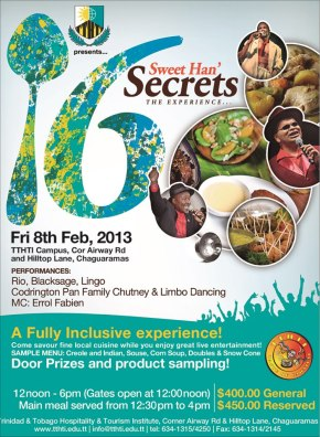 TTHTI Taste of Carnival 2013: Friday, Feb 8th