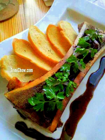Chaud Cafe Roasted Bone Marrow