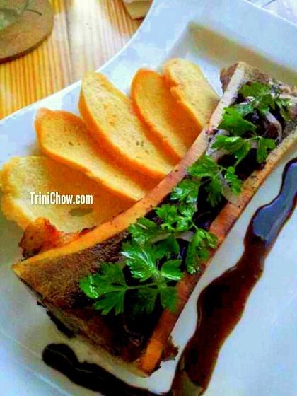 Chaud Cafe Roasted Bone Marrow