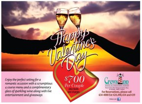 Trinidad & Tobago Restaurants with 2013 Valentine's Day Specials