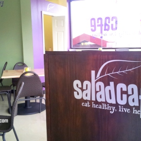 SALAD CAFE (Woodbrook,Trinidad)
