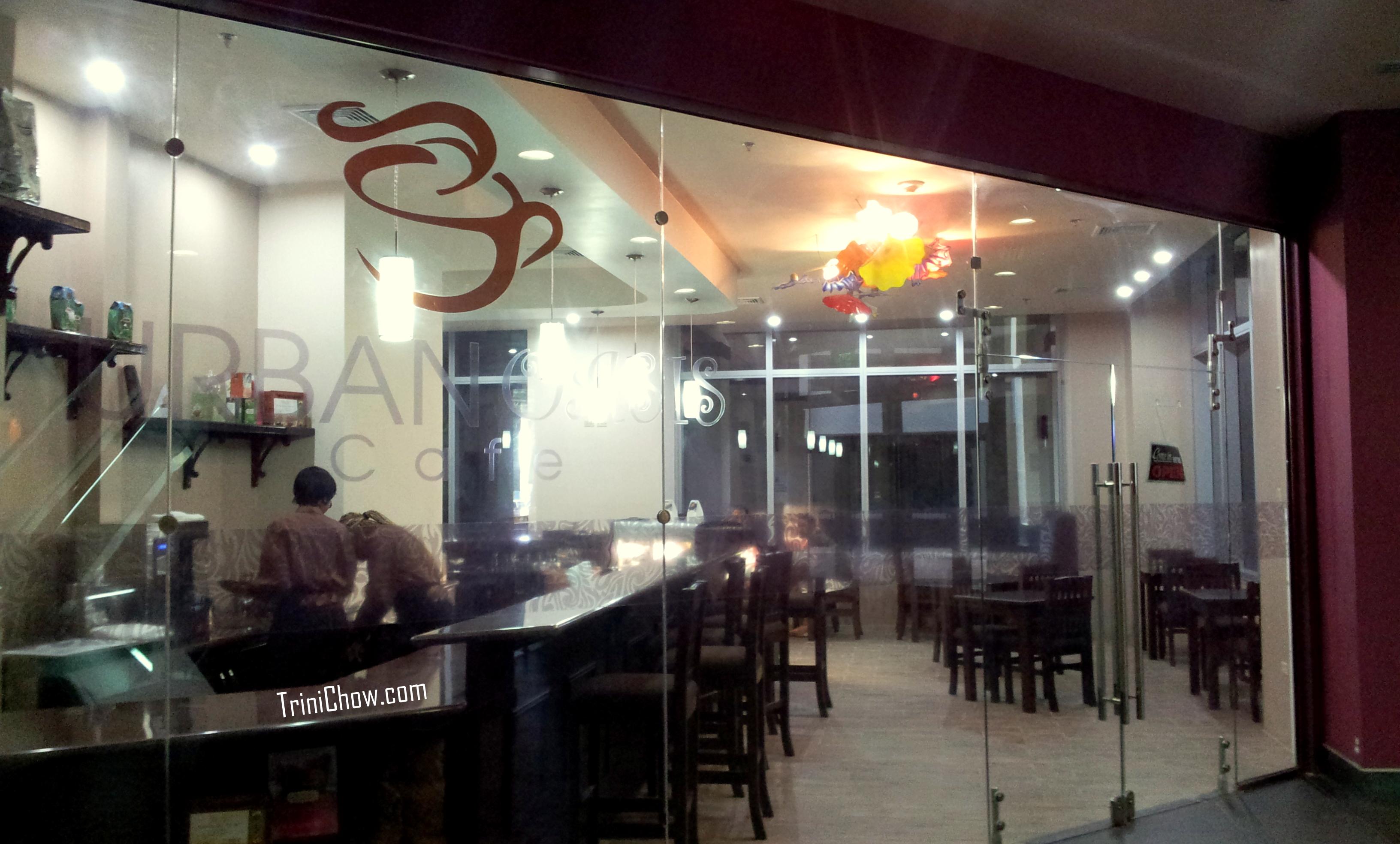 Urban Oasis Cafe Woodbrook Trinidad Trinichow