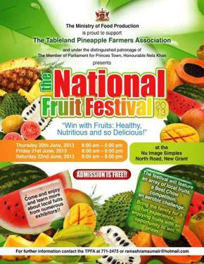 Food & Wine Events in Trinidad & Tobago: JUNE 2013