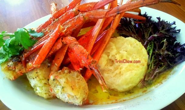 Peche Patisserie Trinidad Crab Cassava