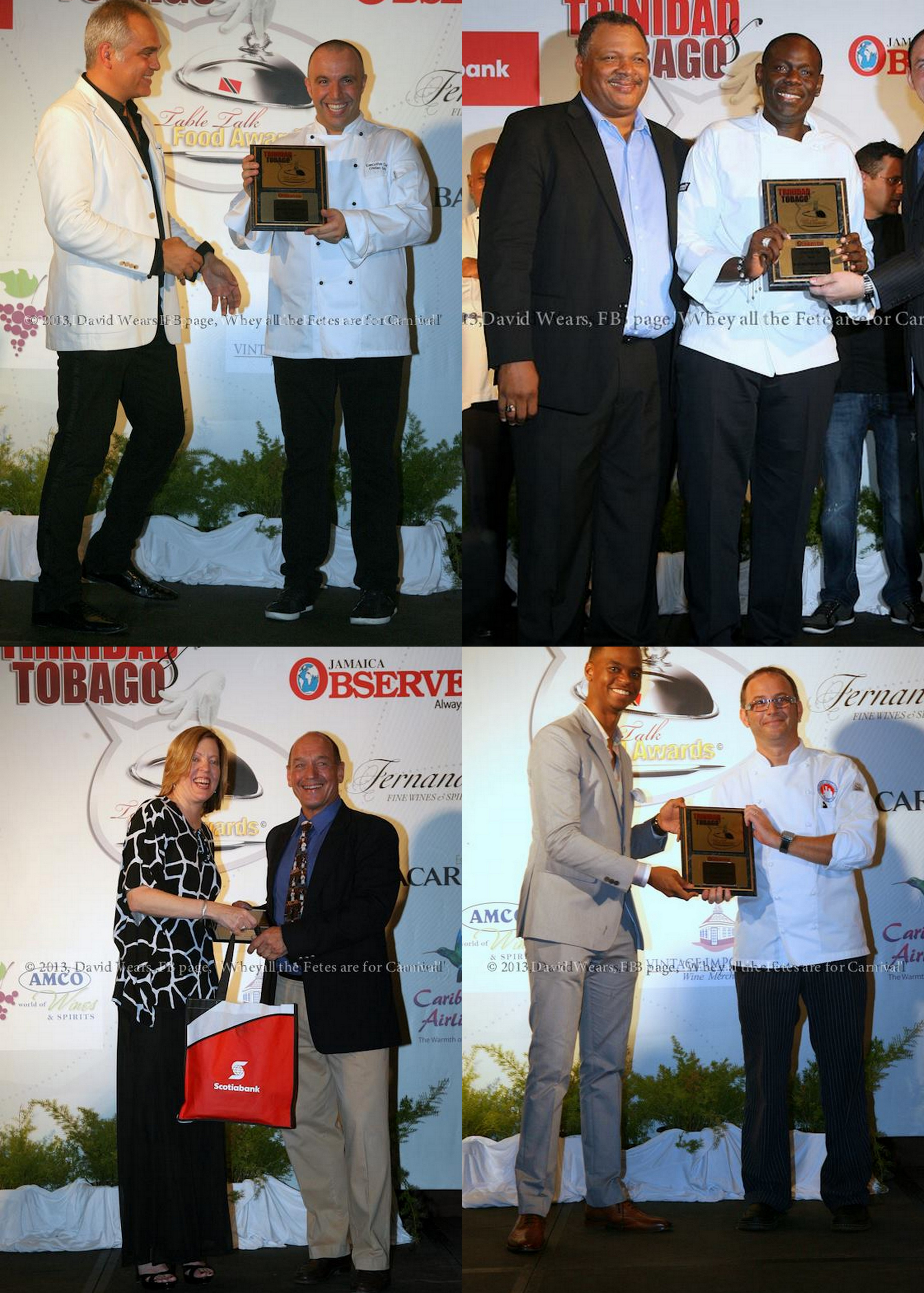 Table Talk Food Awards Trinidad