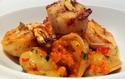 Seafood Tortellini CASA Restaurant Trinidad