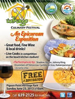 2013 Tobago Culinary Festival: Sunday, June23rd