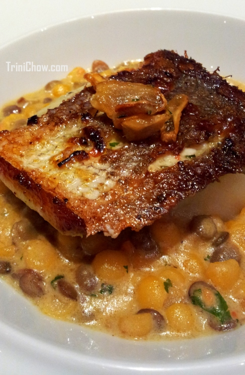 Pan Seared Trout CASA Restaurant Trinidad
