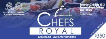QRC Chefs Royal Trinidad