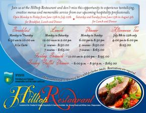 HILLTOP RESTAURANT -TTHTI (Chaguaramas,Trinidad)