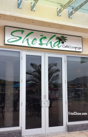 SHESHA CAFE & LOUNGE (Woodbrook,Trinidad)