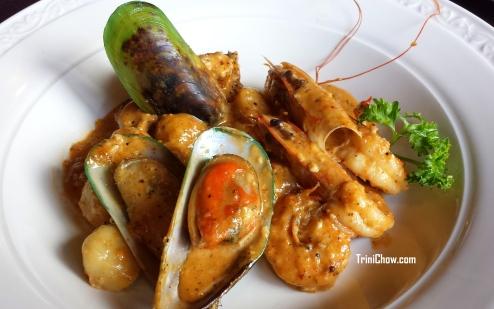 Seafood Gnocchi 106 Restaurant Chaconia Hotel Trinidad