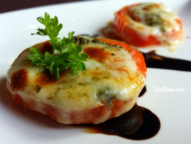 Stuffed Tomatoes 106 Restaurant Chaconia Hotel Trinidad