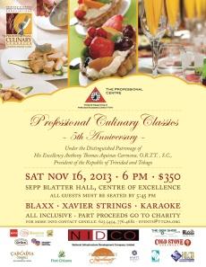 Professional Culinary Classics Trinidad