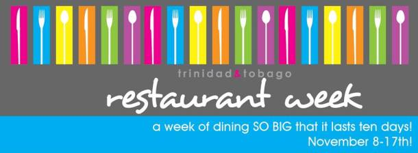Trinidad Tobago Restaurant Week