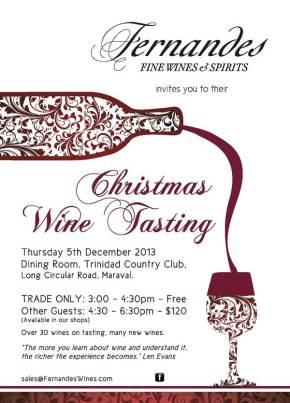 Food & Wine Events in Trinidad & Tobago: DECEMBER2013