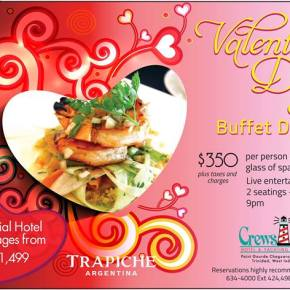 2014 Valentine's Day Specials at Restaurants in Trinidad & Tobago