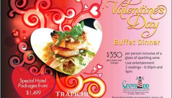 2014 valentines day specials at restaurants in trinidad tobago