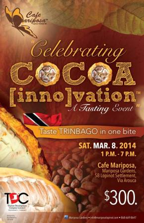 Food & Wine Events in Trinidad & Tobago: MARCH 2014