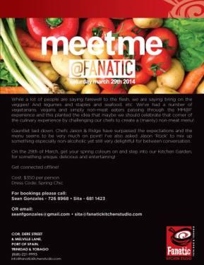Food & Wine Events in Trinidad & Tobago: MARCH2014