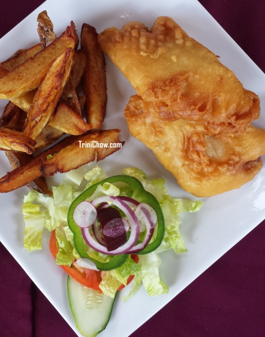 Watermill Restaurant Tobago Fish & Chips