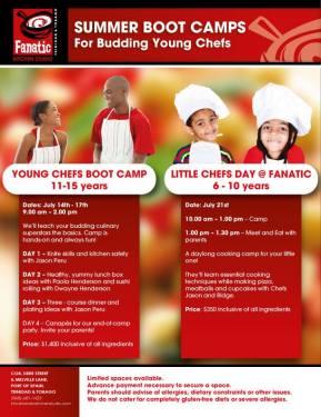 2014 KIDS Culinary Camps in Trinidad &Tobago