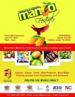 2014 TRINIDAD & TOBAGO MANGO FESTIVAL: 29th June
