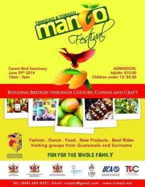 2014 TRINIDAD & TOBAGO MANGO FESTIVAL: 29thJune