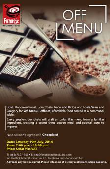 Off Menu Fanatic Kitchen Studio Trinidad