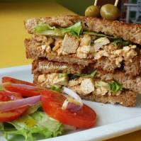 Youthful Vegan Cafe Trinidad - Tofu Sandwich