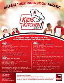 Kids Cooking Camp Trinidad at Fanatic