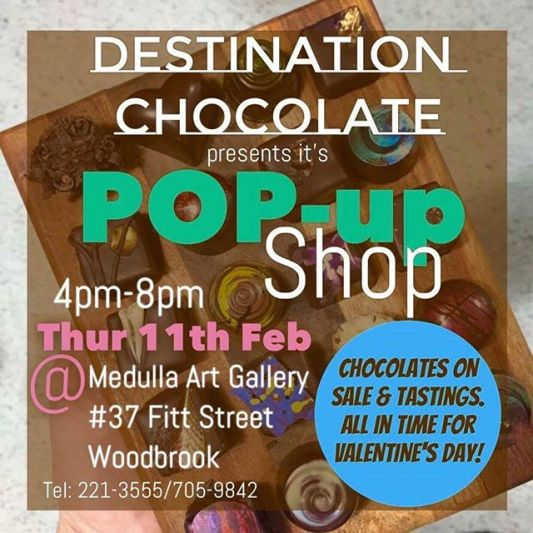 Destination Chocolate Trinidad & Tobago Pop-Up Shop