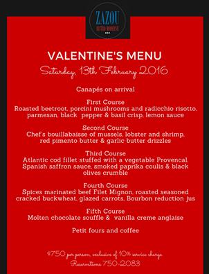 2016 Valentine S Day Specials At Restaurants In Trinidad Trinichow