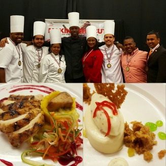 2016 National Culinary Team Dinners Trinidad Tobago