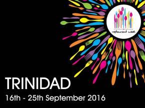 Participating Restaurants & Menus: 2016 Trinidad Restaurant Week, 16th-25thSeptember